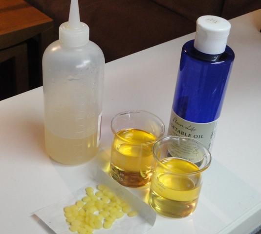 米油&STAP魔法水&蜜蝋&アロマ精油のクリーム